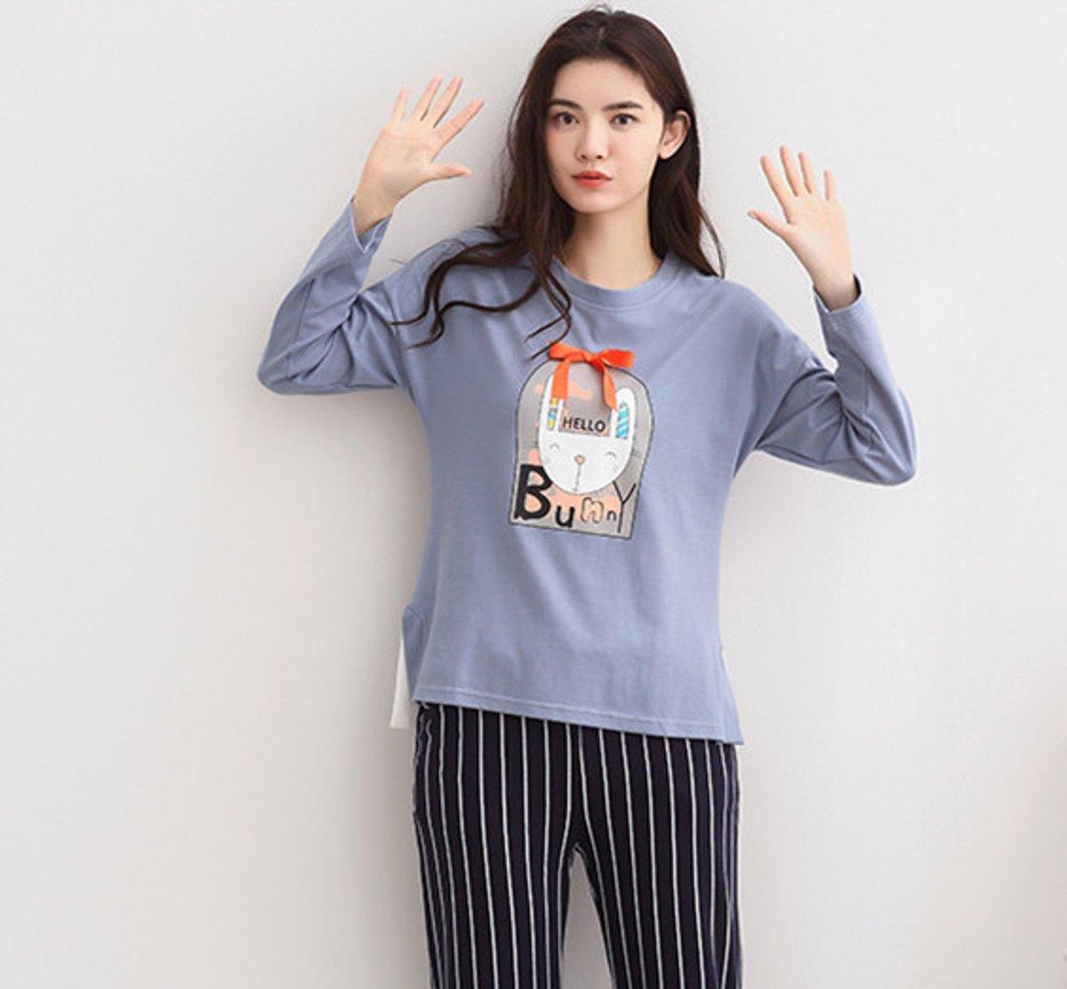 Printed lange mouwen pyjamasets XXL 6328 (Raadpleeg de productbeschrijving voor de maat) kopen