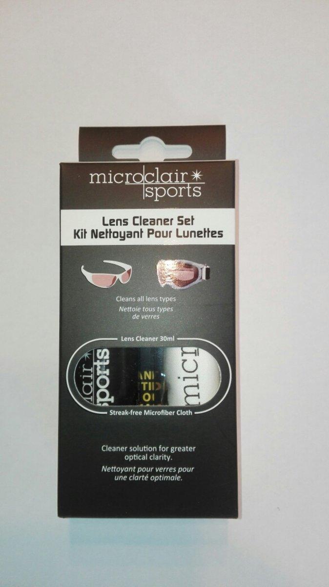 Microclair Brilreinigingsmiddel - set: lens cleaner 30ml + microvezel doekje kopen