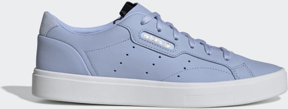 adidas Sleek Shoes Periwinkle Womens in 2019   Blue adidas