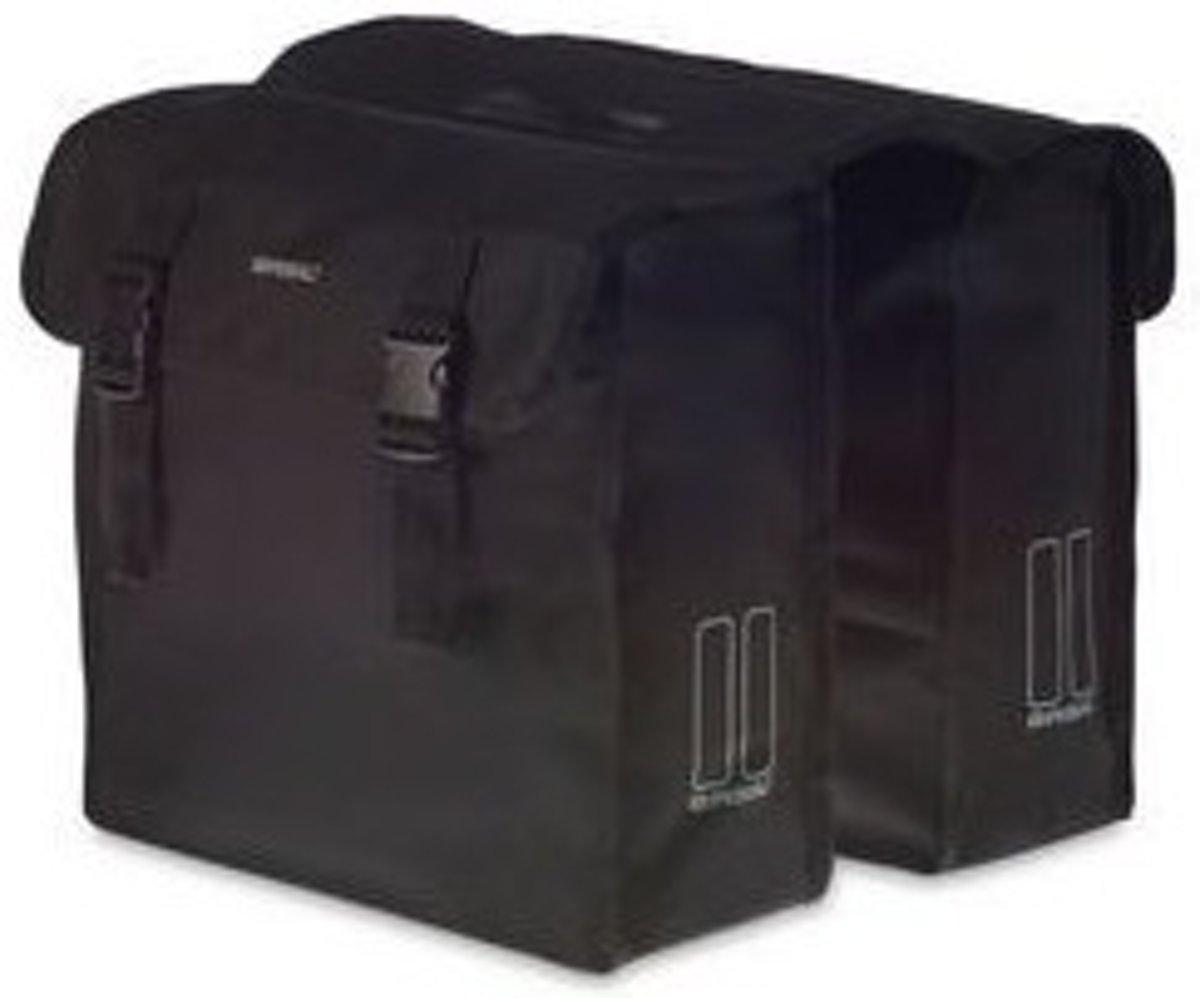 585369a8b00 bol.com | Basil Mara XL Dubbele Fietstas - 35 liter - Zwart