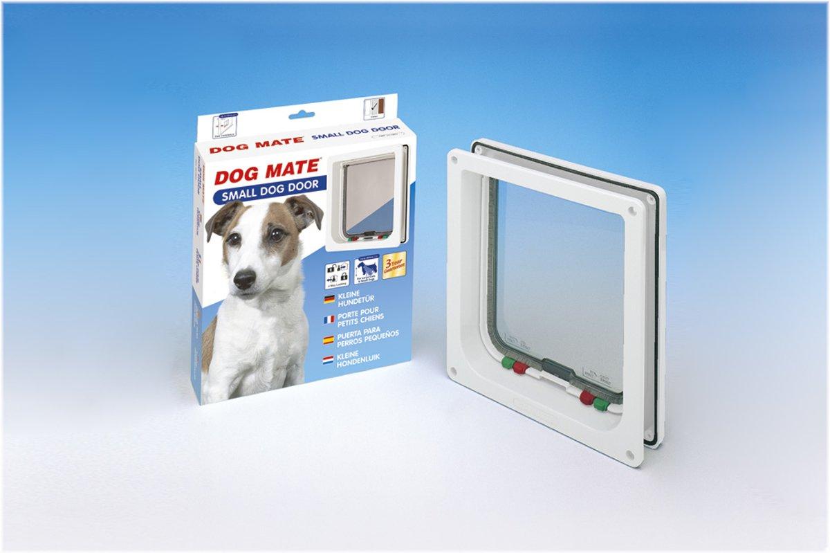 Dogmate hondenluik Dogmate hondenluik - Klein wit kopen