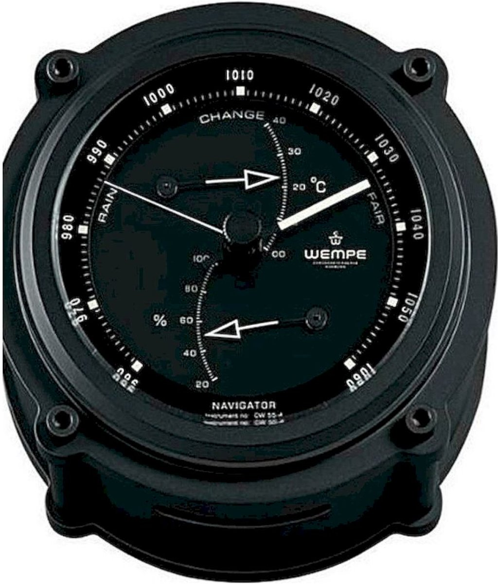 Wempe Chronometerwerke Maritim Navigator II Baro-/Thermo-/Hygrometer CW550004 kopen