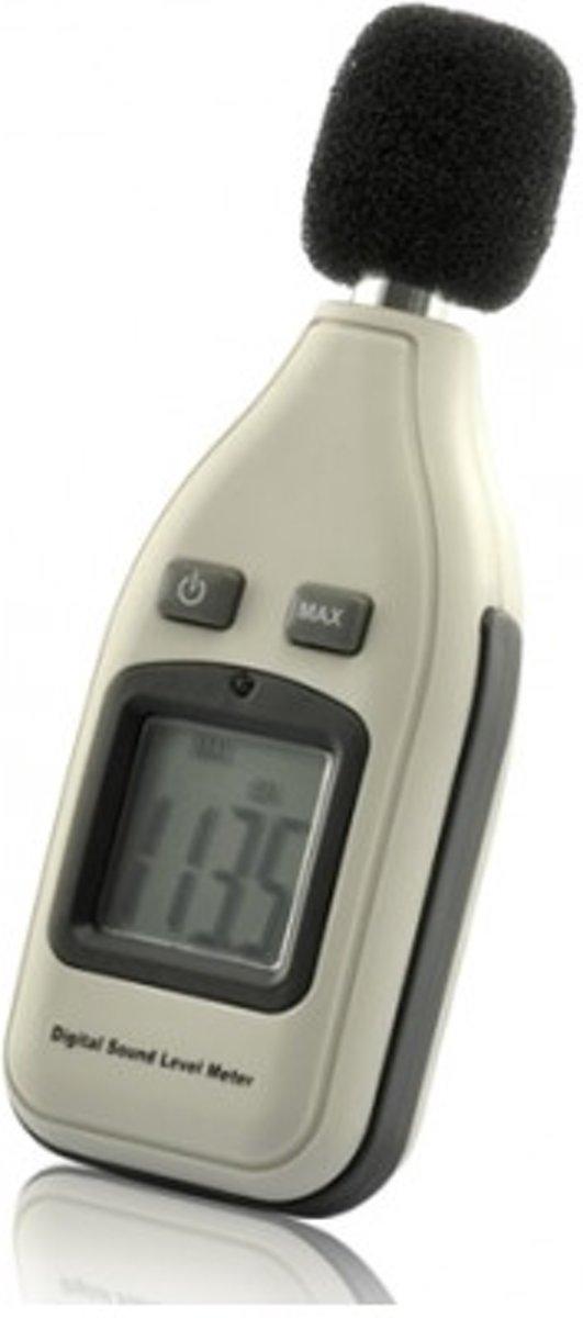 D180 mini decibelmeter 35 tot 130 decibel - Geluidsmeter - LCD scherm kopen