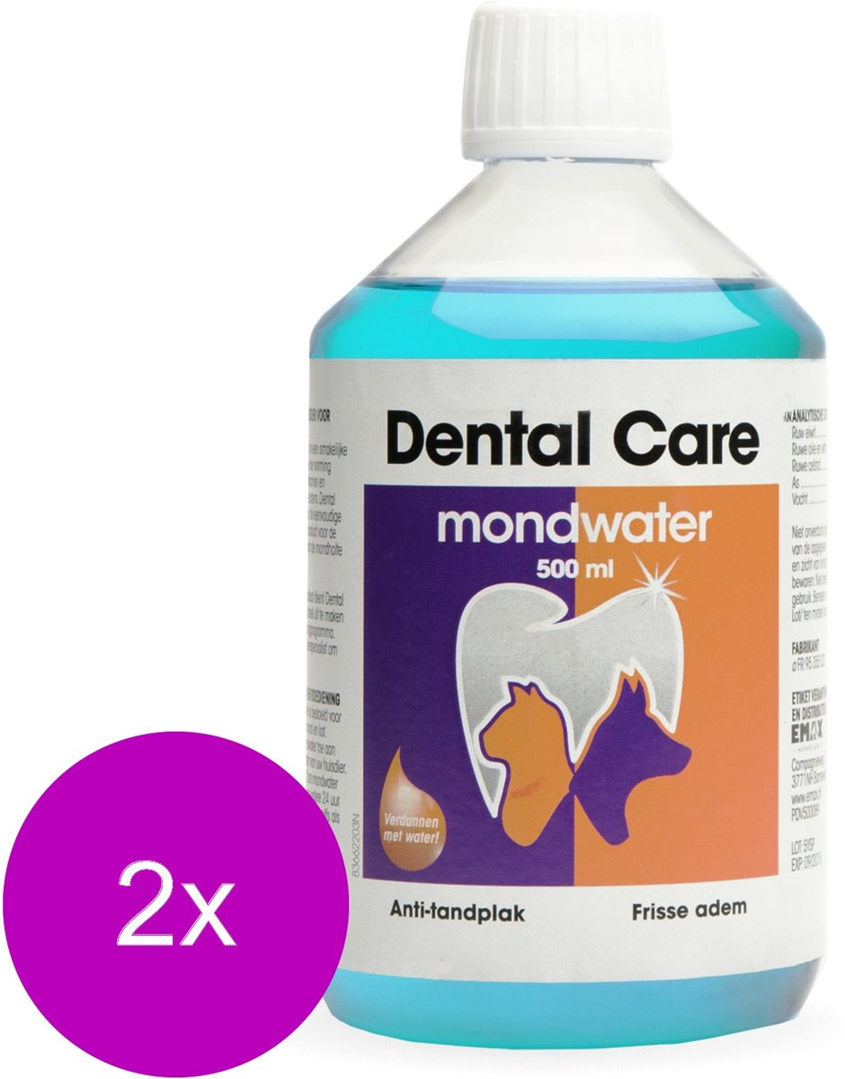 Emax Dental Care - Gebitsverzorging - 2 x 500 ml kopen