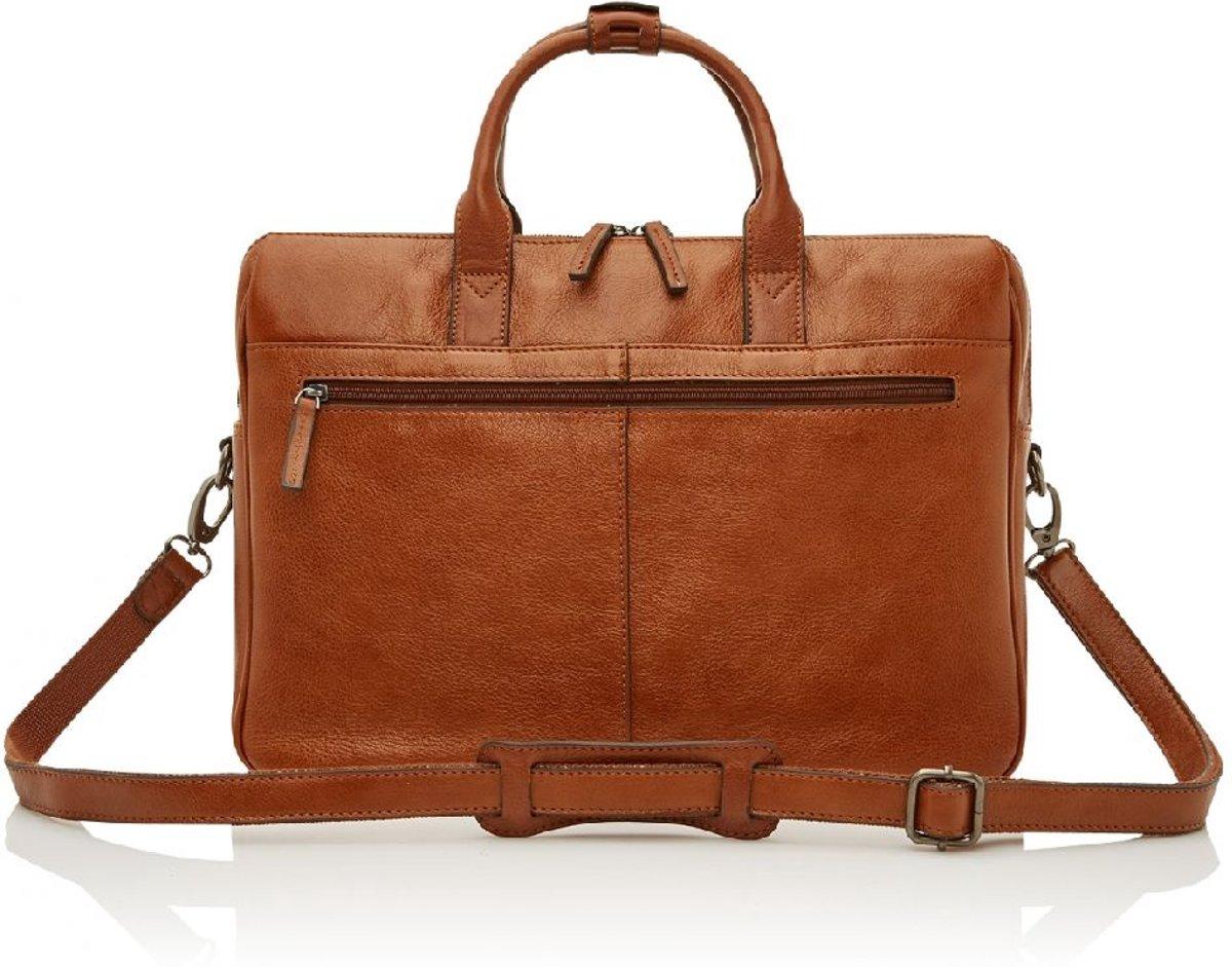 b0e1b09276e bol.com   Castelijn & Beerens Nova laptoptas 15,6'' licht bruin +  laptopsleeve