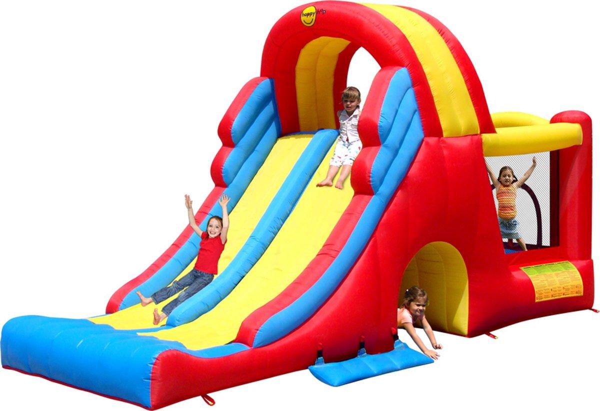 Happy Hop Mega Slide-Combo - Springkussen
