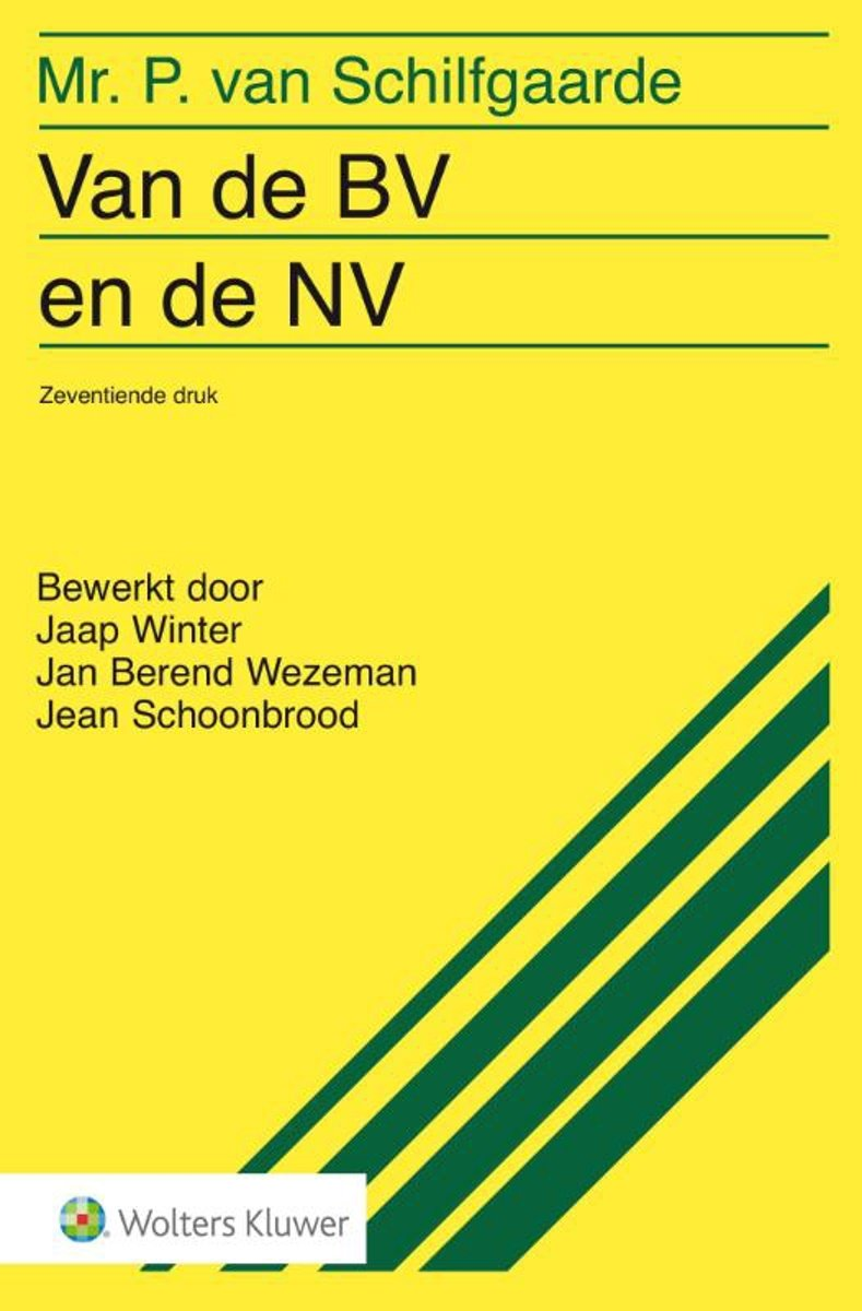 Bekend bol.com | Van de BV en de NV | 9789013137378 | P. van Schilfgaarde  WP-86