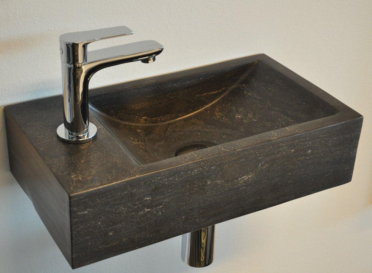 Fontein Natuursteen Toilet : Bol.com lambini designs recto losse fontein 40x22cm natuursteen links