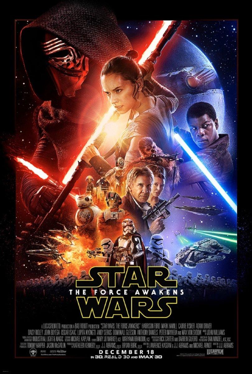 Star Wars The Force Awakens episode VII - Film poster - 61x91 cm kopen