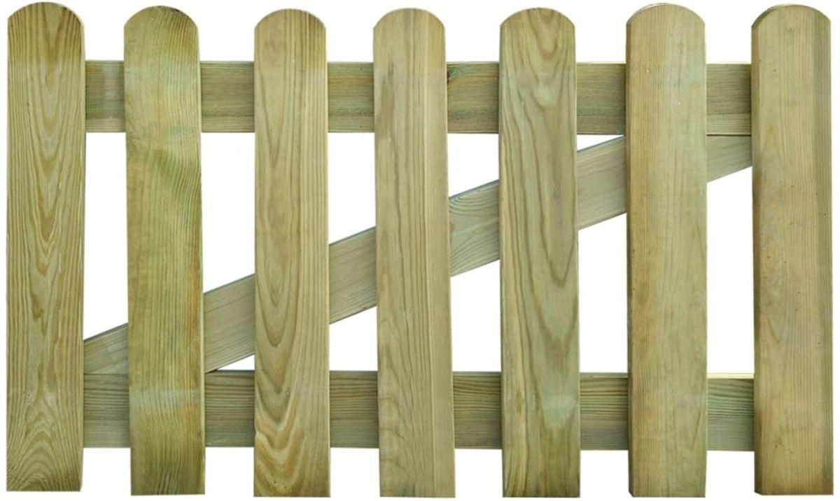 vidaXL Tuinpoort 100 x 60 cm hout kopen