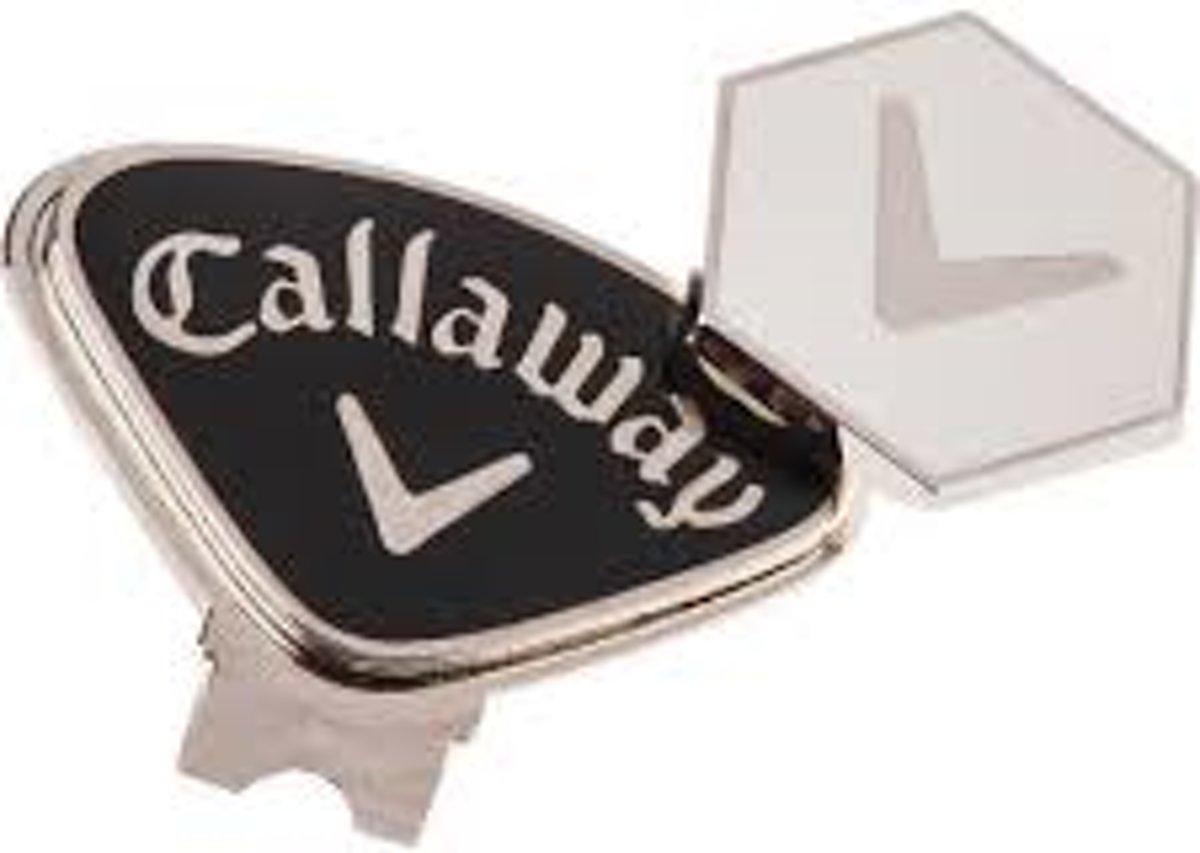 Callaway Magnetic hat clip CA1000049 Golfbalmarker Unisex Zwart kopen
