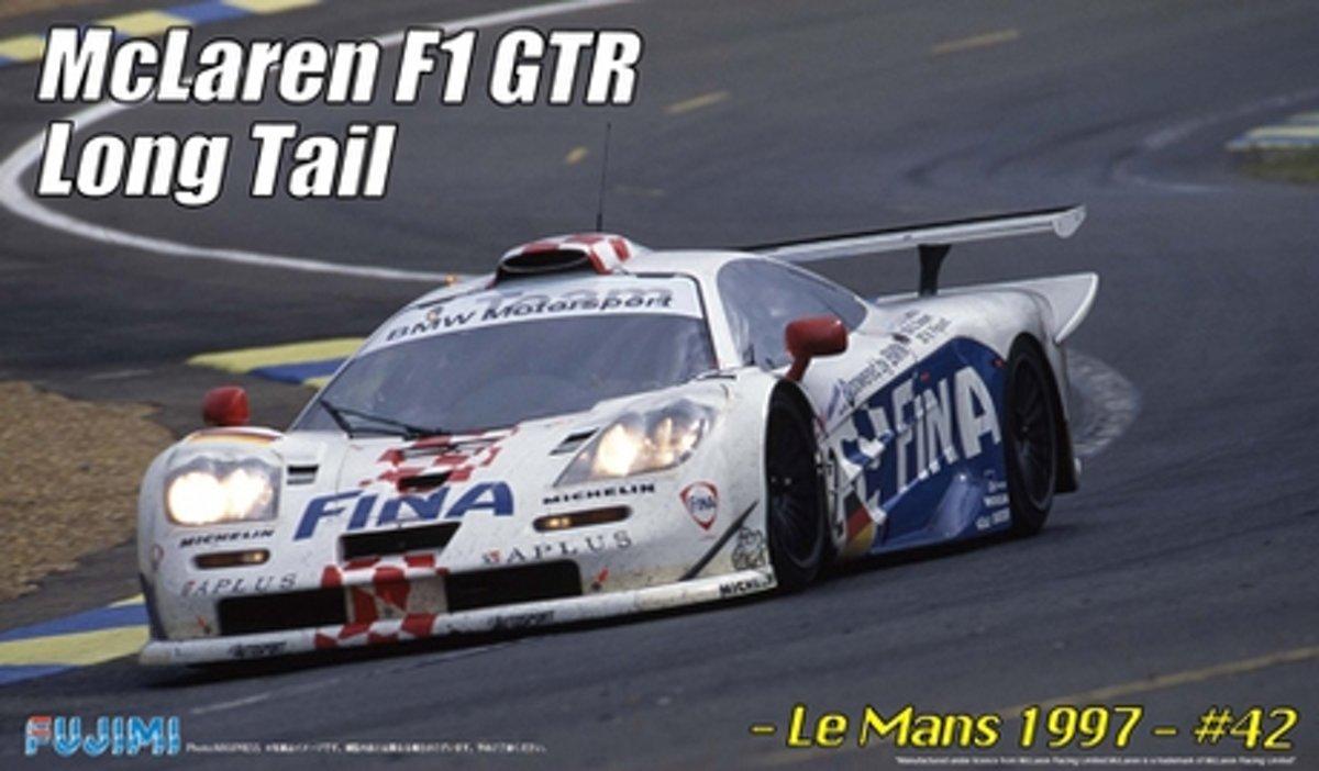 "Fujimi Mclaren F1 GTR BMW ""Fina"" Le Mans 1997"
