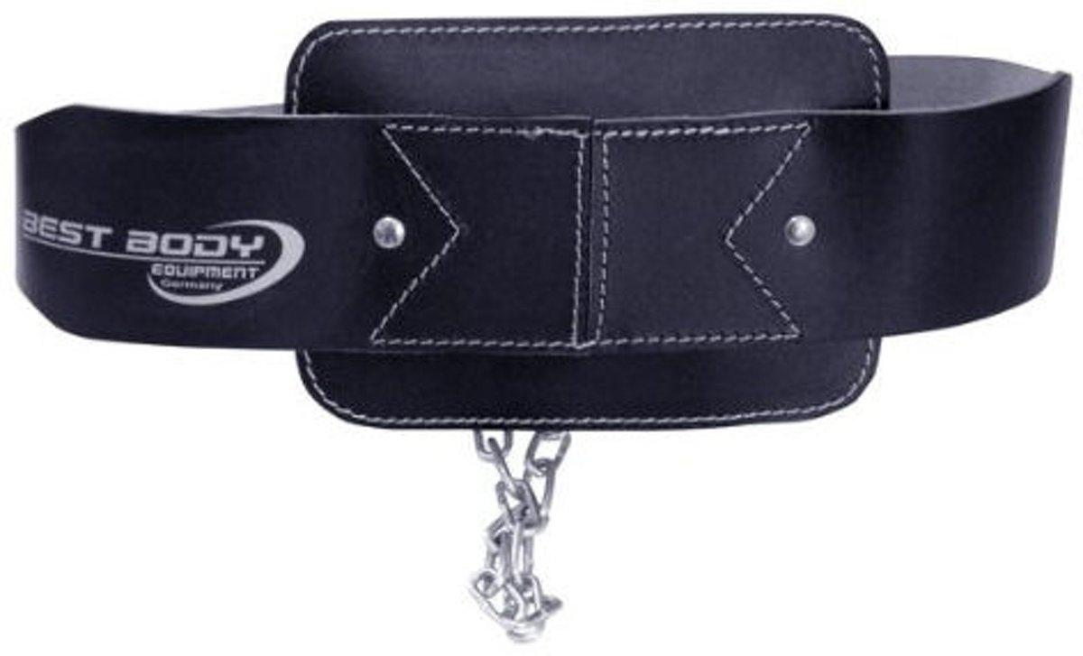 Foto van Best Body Sportswear Dipping Belt Leder