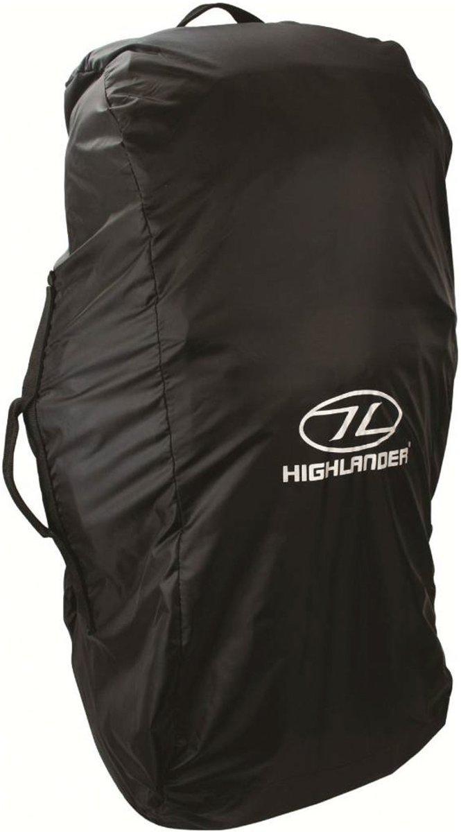Highlander flightbag en regenhoes 80-100 liter - zwart kopen