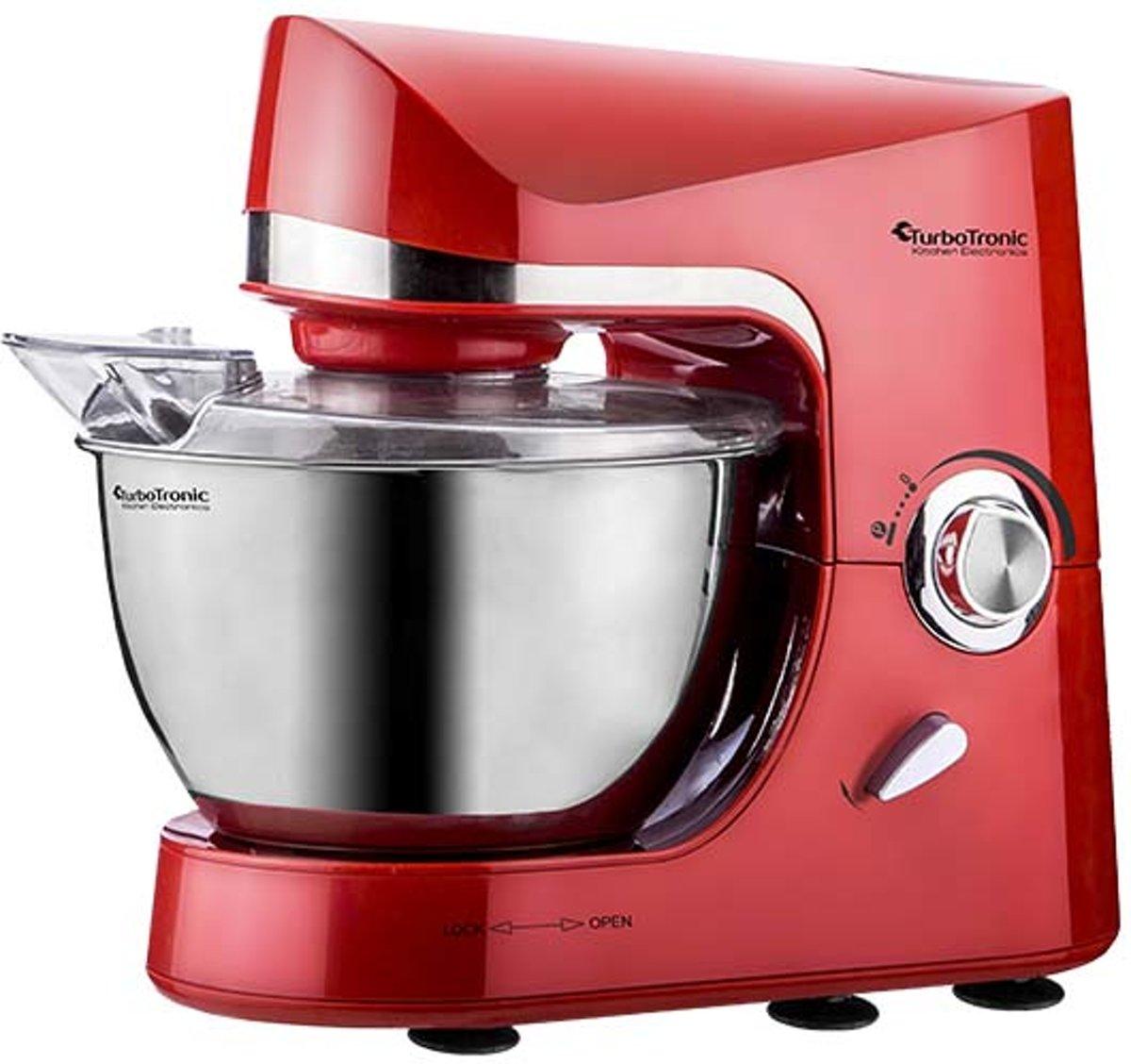 TurboTronic Pro-mix - Keukenmachine - Rood kopen