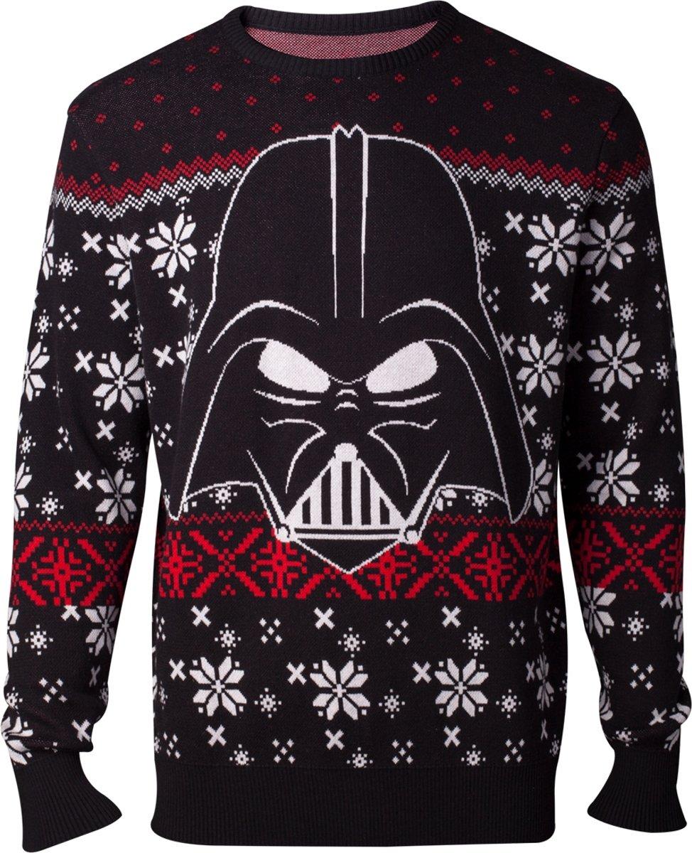 Starwars Kersttrui.Bol Com Difuzed Star Wars Kersttrui Darth Vader Maat Xxl Zwart