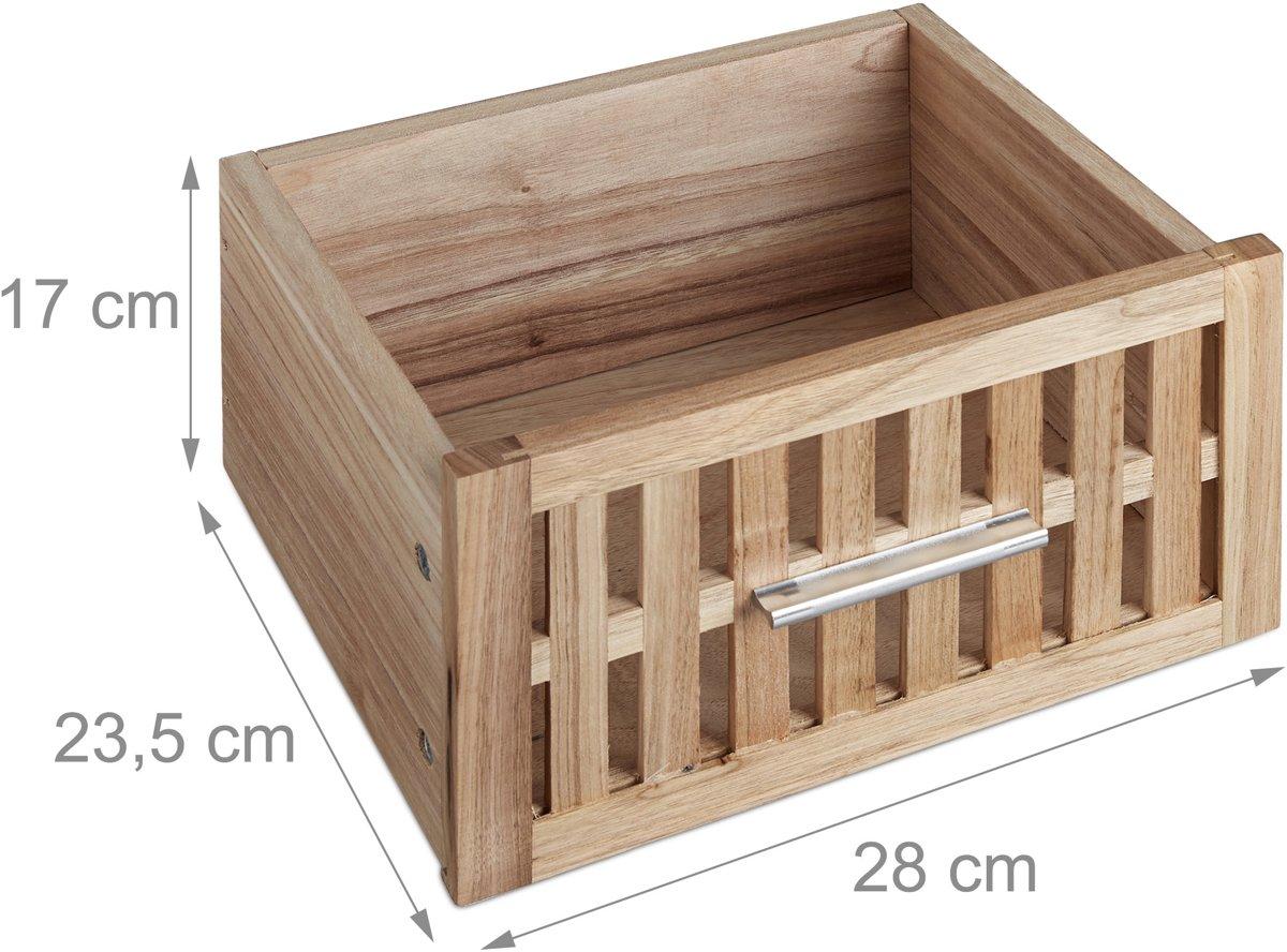 Kolomkast Badkamer Hout : Bol.com relaxdays badkamerkast notenhout 82 x 40 x 29 cm hout