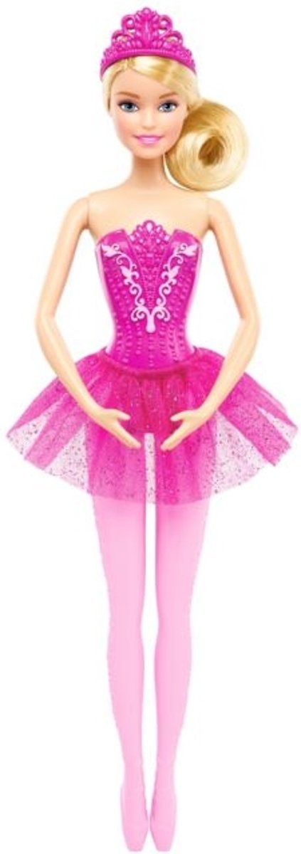 Ballerina Barbie roze
