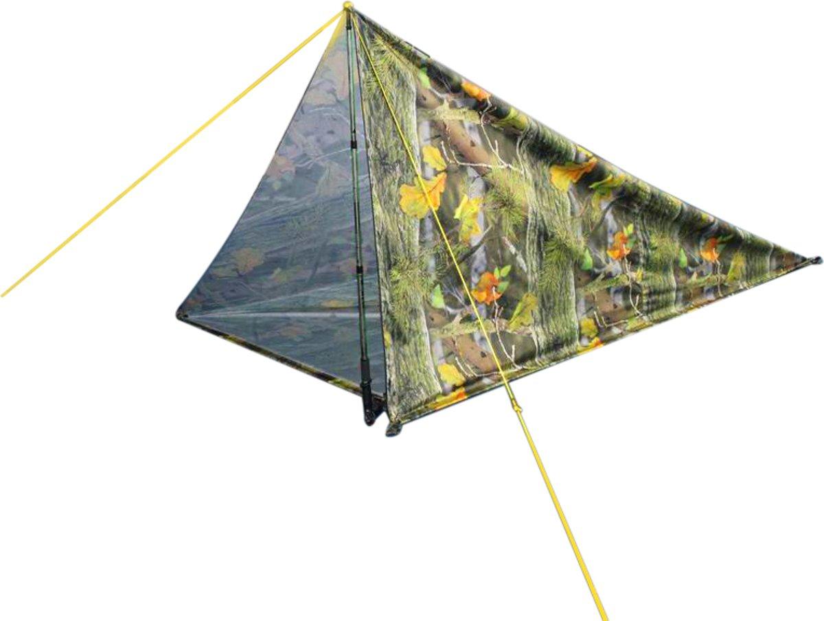 MacGyver tent 3 in 1 - Hangmat - Schaduwdoek - Tarp Camouflage - 280 x 280 cm kopen