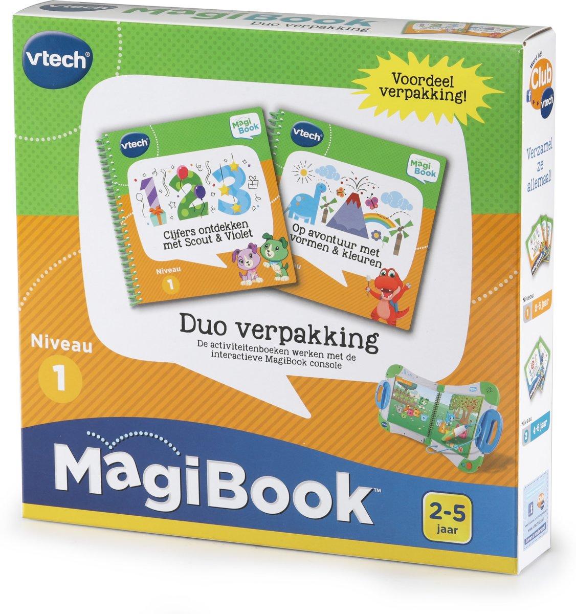Voordeelbundel Magibook 2-5 jaar - 2 activiteitenboeken voor €7,43