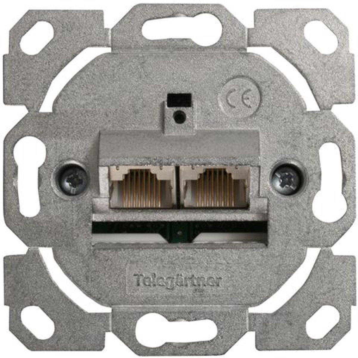Telegärtner J00020A0388 flat panel muur steun Zilver kopen