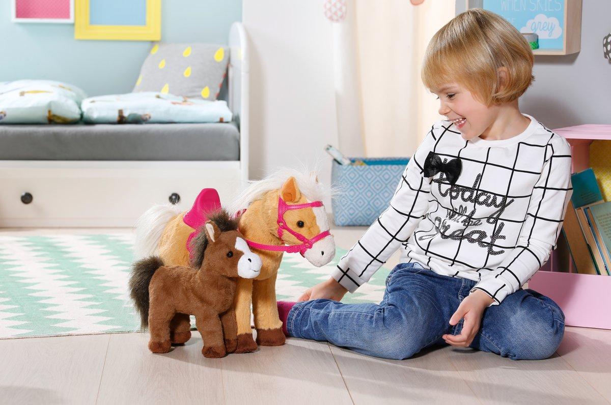 ad41c0fe608024 bol.com   BABY born Interactieve Pony Boerderij Paard met Veulentje, Zapf  creation   Speelgoed