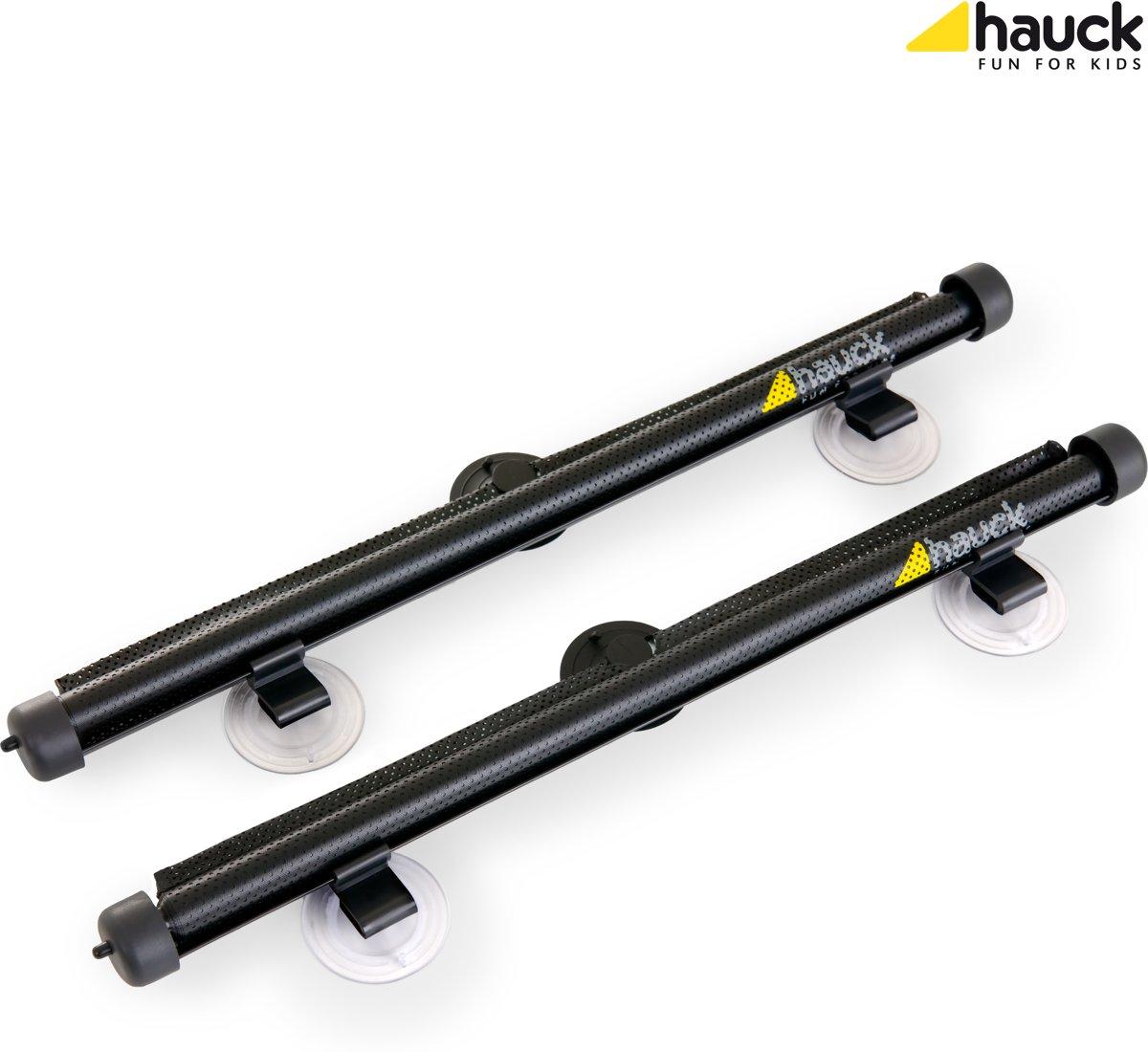 Hauck Shade Me 2 - Zonnescherm Auto Oprolbaar (2 stuks) - Zwart