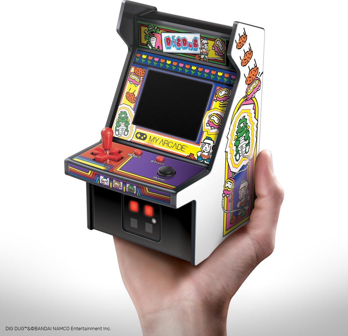 My Arcade Retro Mini Arcade Machine Dig Dug