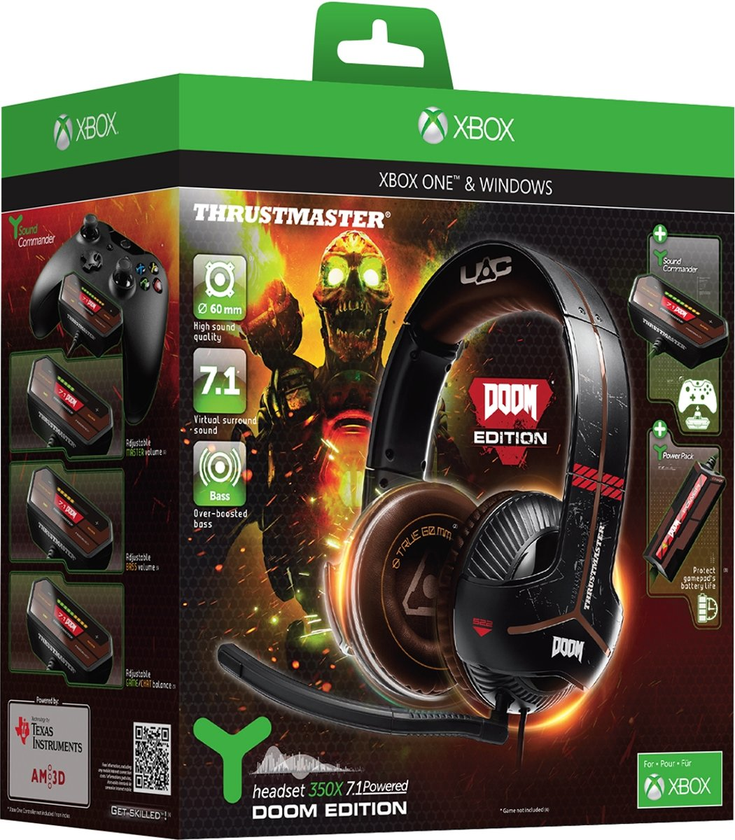 Thrustmaster Y350X 71 Powered Gaming Headset Doom Limited Edition kopen