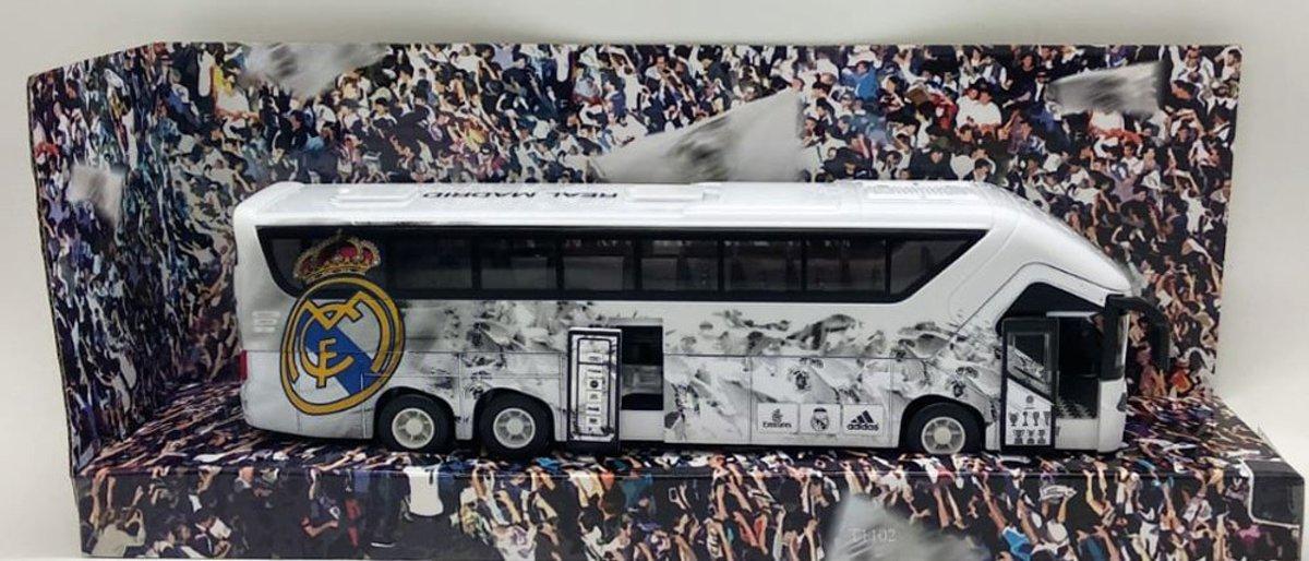Real Madrid Spelersbus