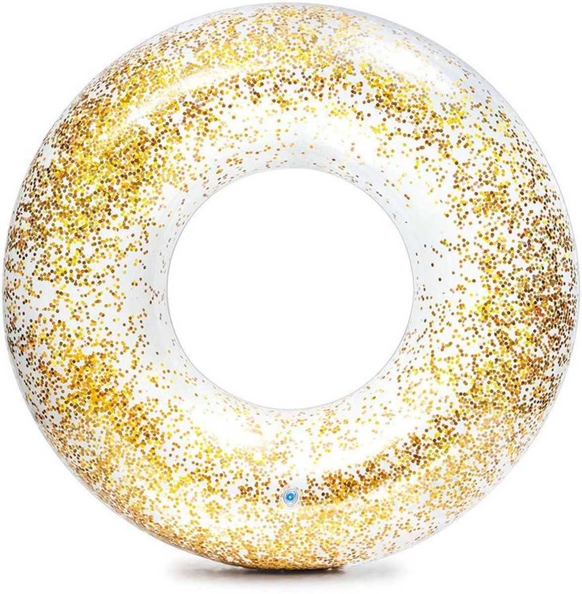 Intex Transparant Glitter Tube 119 cm - Kleur Roze of Goud - 1 Drijfband