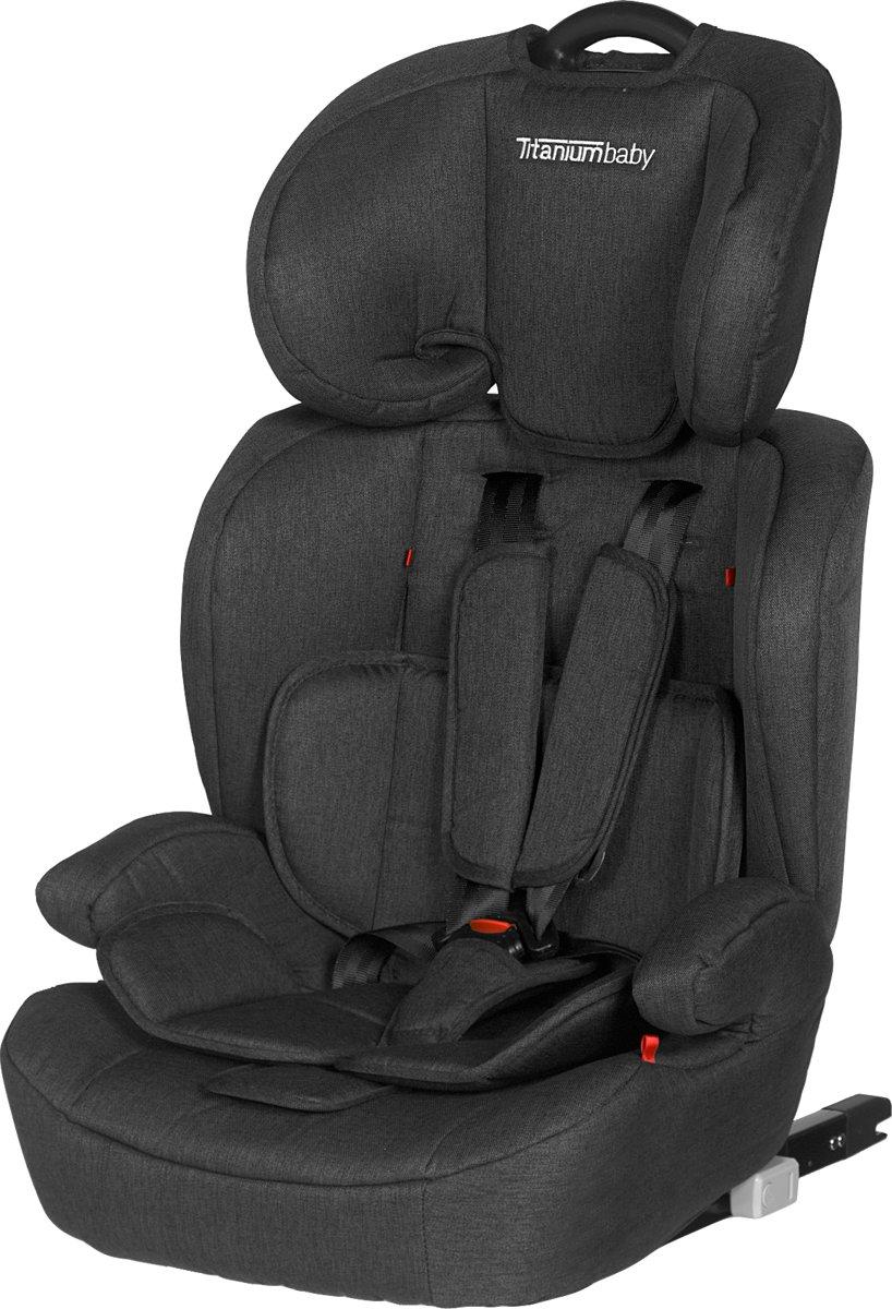 Titaniumbaby Autostoel Niklas Groep 1,2,3 ISOFIX Antraciet 5935