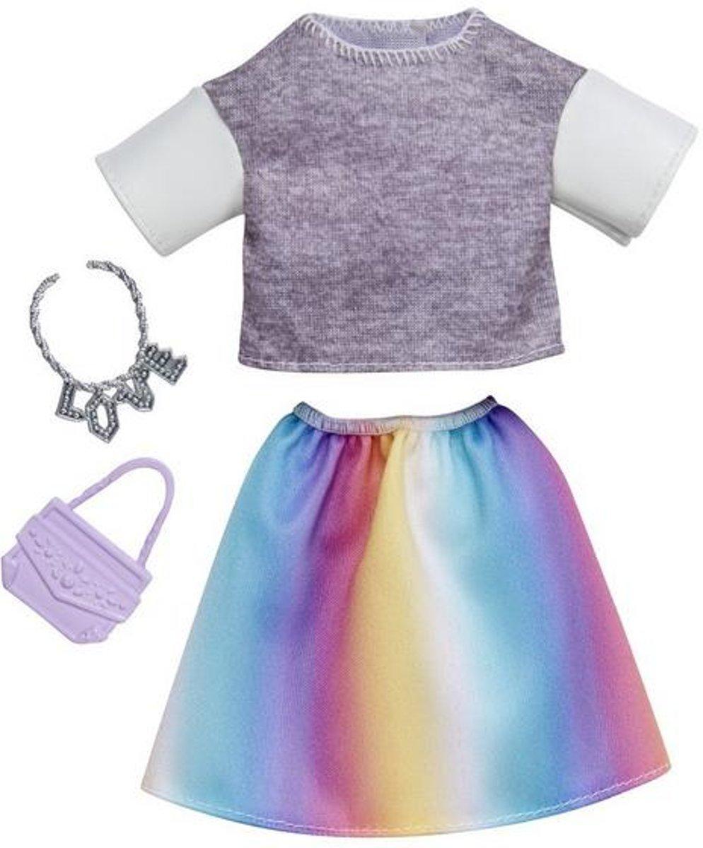 Barbie Outfit Zomers - Shirt, Rok en Accessoires