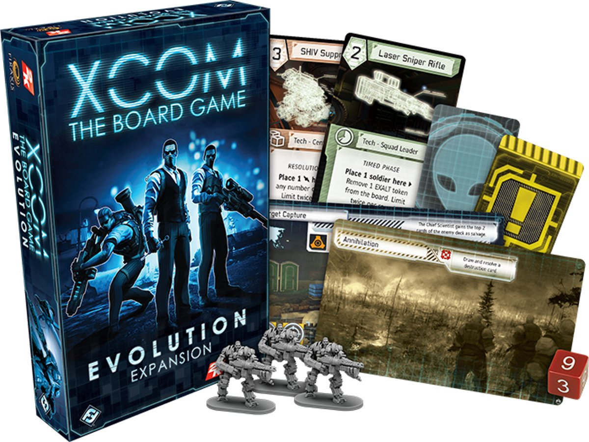 XCOM The Board Game: Evolution Uitbreiding