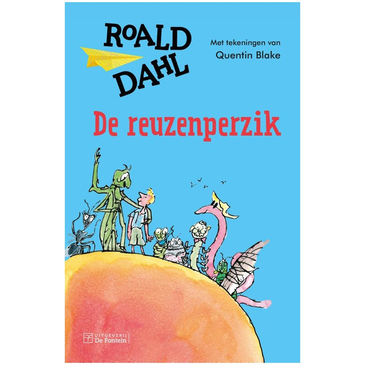 Afbeelding voor Boek Roald Dahl De Reuzenperzik Limited Edition