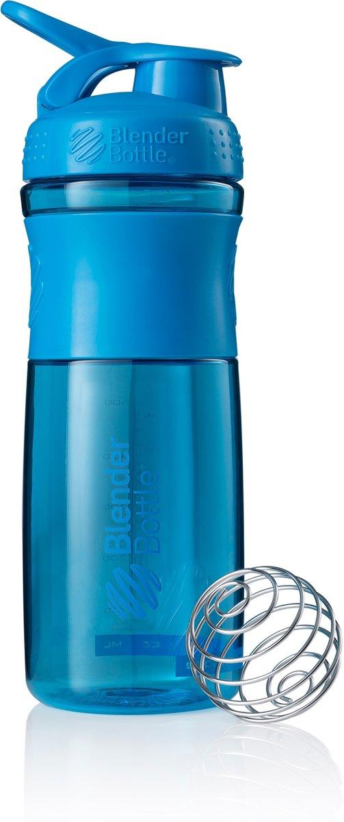 BlenderBottle™ SPORTMIXER Big Cyaan met oog - Eiwitshaker / Bidon / Shakebeker  - 820 ml kopen