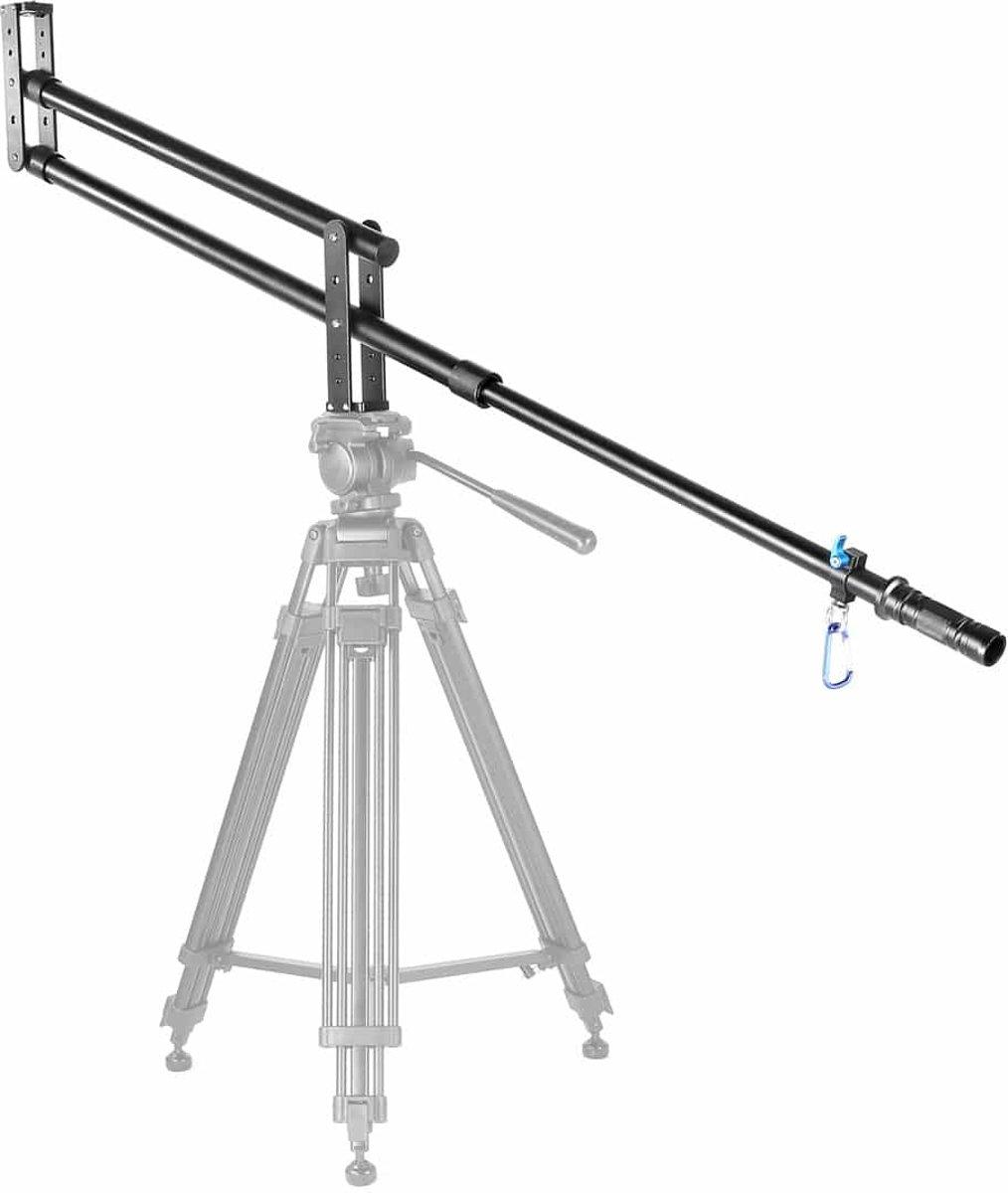 YELANGU YLG0110A draagbare camera kraan arm Jib voor DSLR-camera's, lengte: 2m, Max laadgewicht: 5kg (zwart) kopen