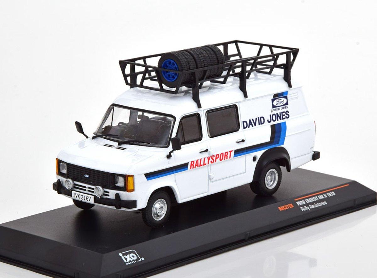 Ford Transit MK2 Rally Assistance 1979 David Jones 1-43 Ixo Models