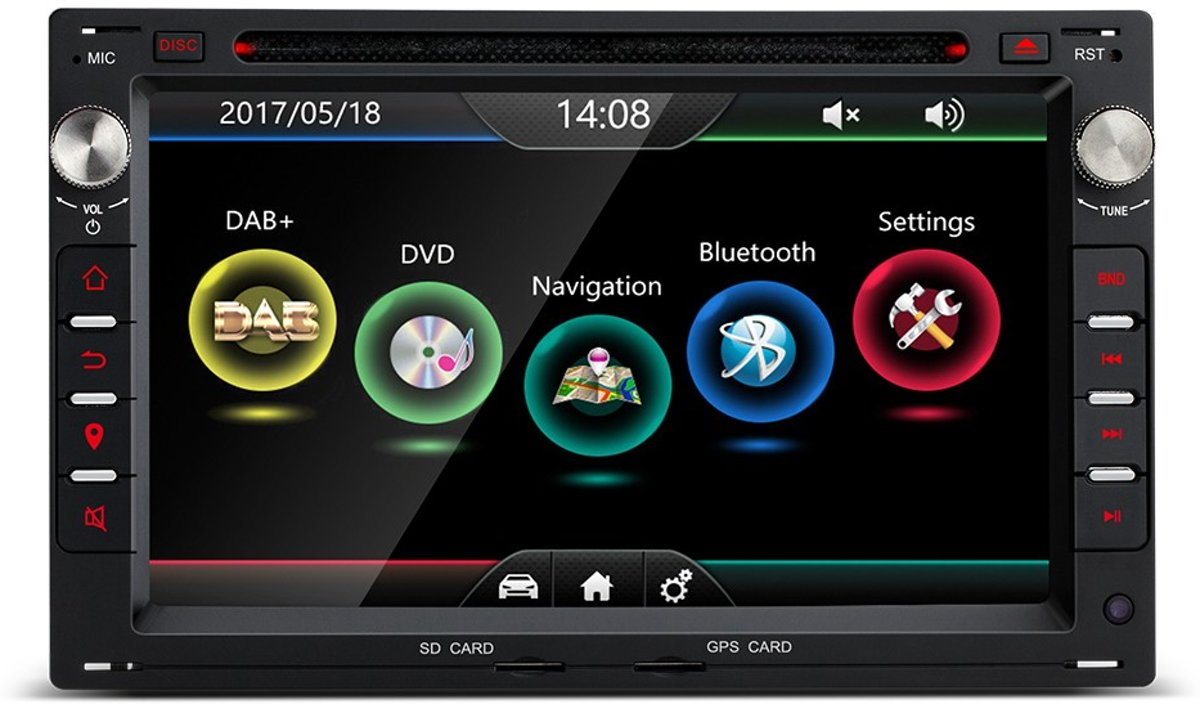 VW, Seat, Skoda Navigatie met DAB+ Antenne kopen