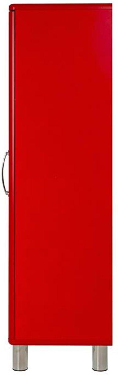 Malibu Kast Rood : Bol tenzo vitrinekast malibu small deurs b d x