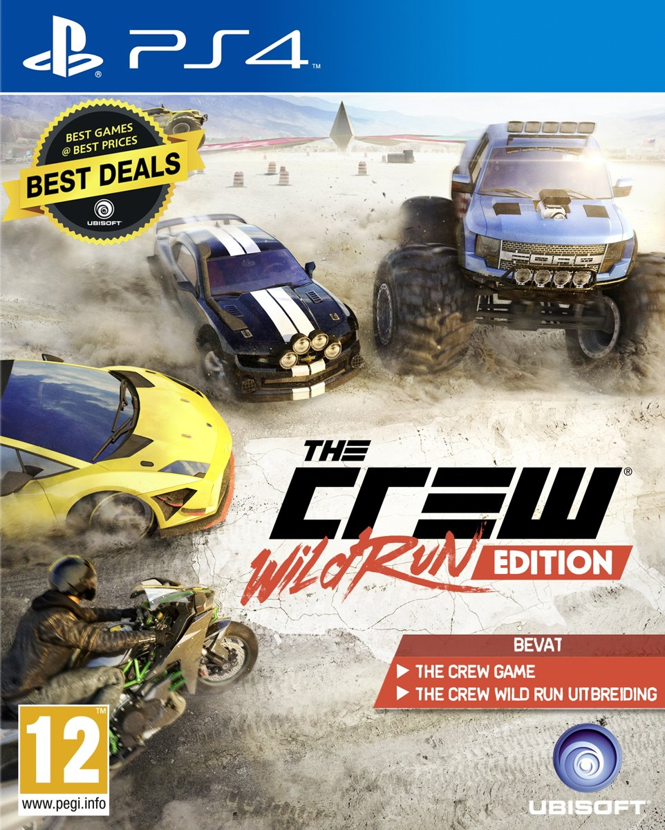 The Crew: Wild Run Edition PlayStation 4