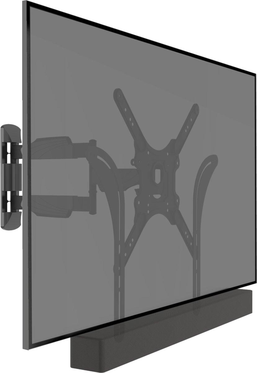 Cavus WMESBU Draaibare en kantelbare TV muurbeugel met Soundbar bevestiging – VESA Ophangbeugel geschikt voor 23 – 55 inch Tv's & Soundbar kopen