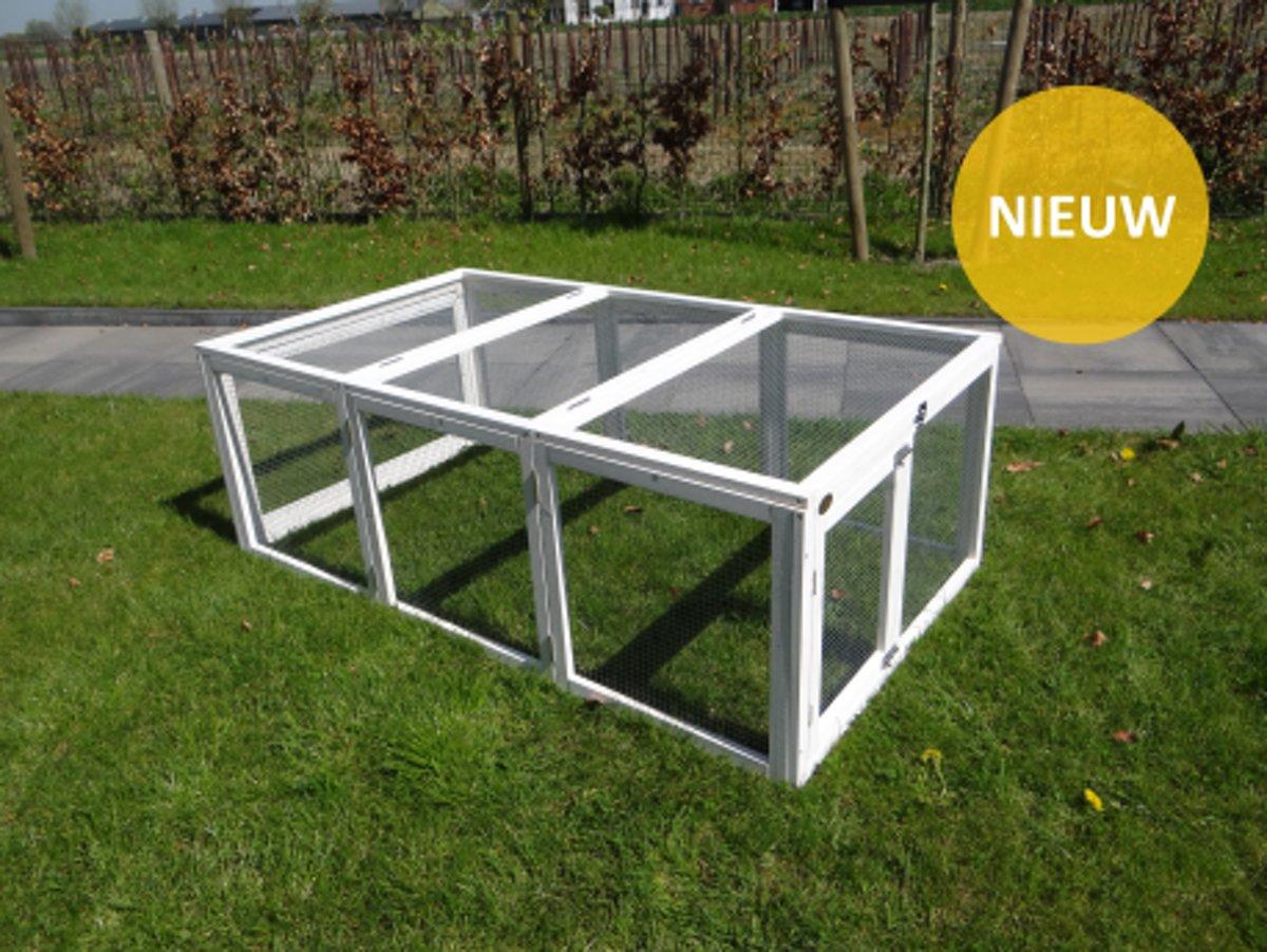Buitenren Risoul Wit- 160x89x56 cm kopen