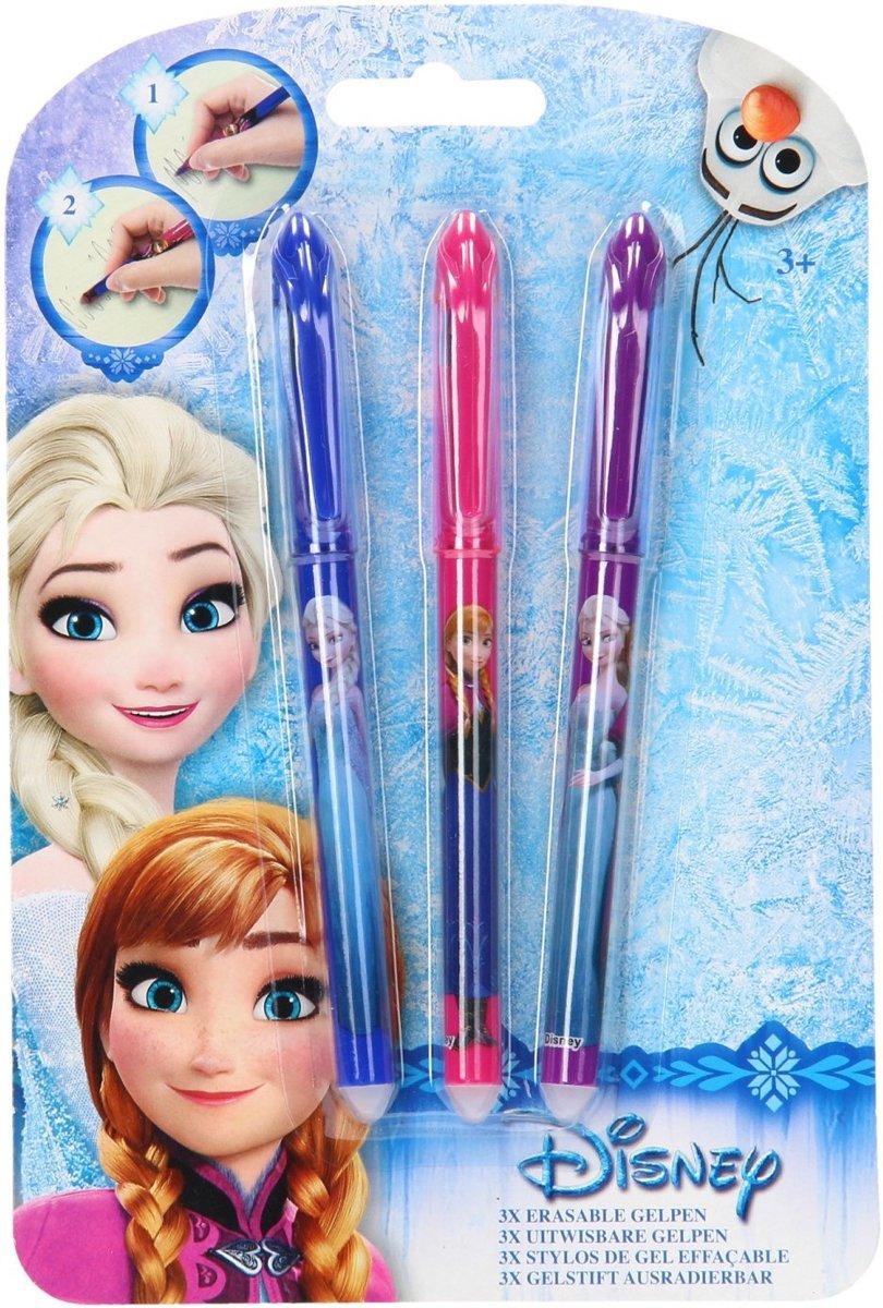 Frozen Uitwisbare Gelpen 3 Op Kaart kopen
