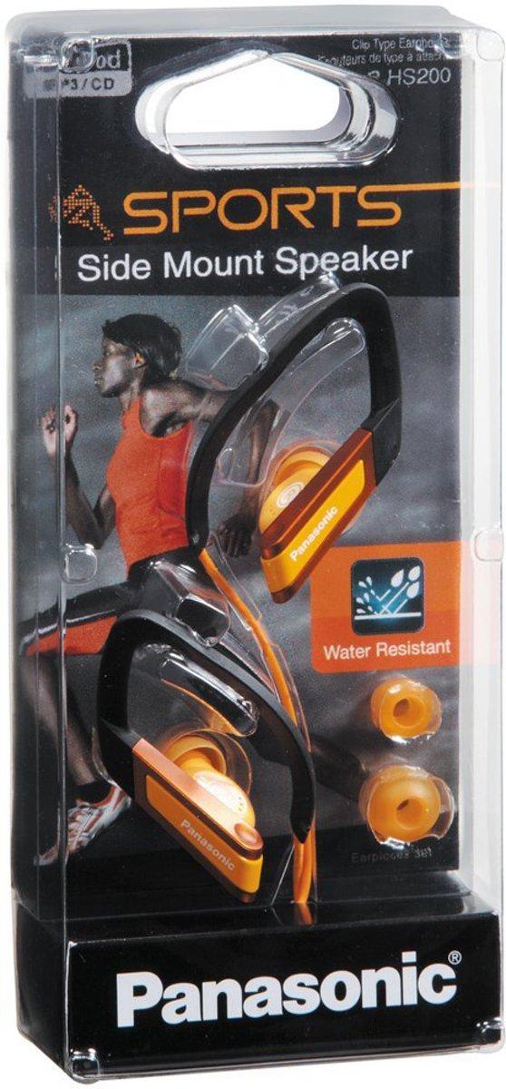 Panasonic RP-HS200 - oordopjes met clip - Oranje kopen