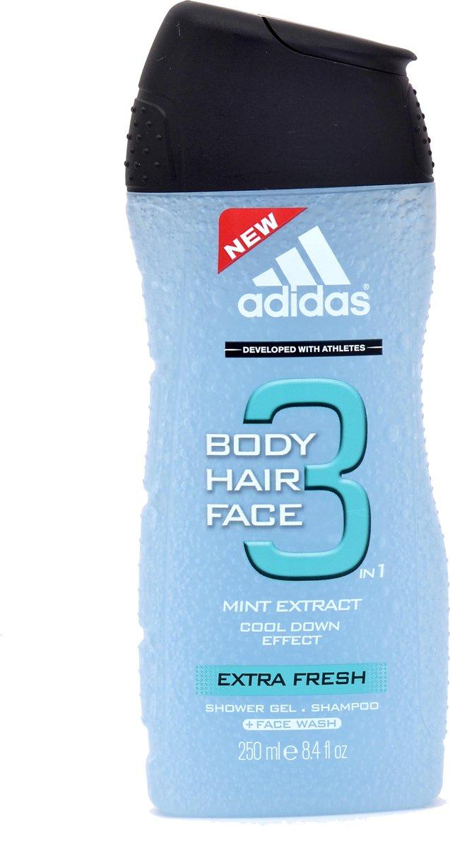 Adidas Extra Fresh Hair & Body 3 Man 250ml