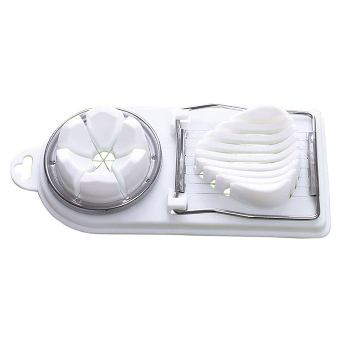 Handige Multifunctionele eiersnijder wit kopen