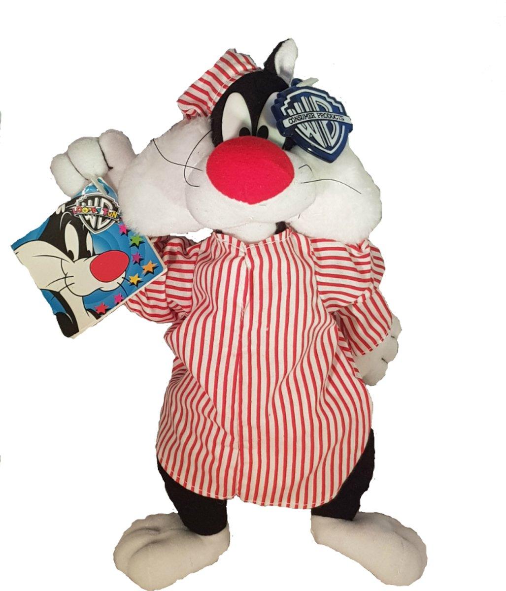 Looneytunes: Pluche Sylvester in Pyjama