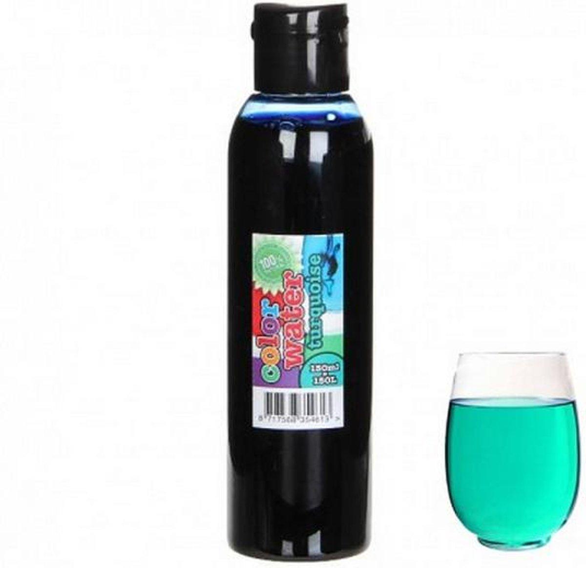 Kleurstof 150 ml - turquoise - set van 6 stuks kopen