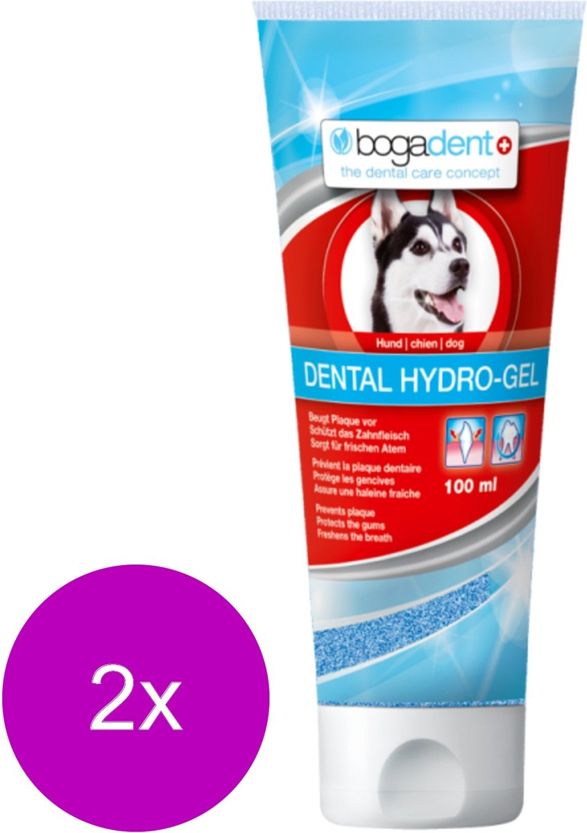 Bogadent Dental Hydro-Gel - Gebitsverzorging - 2 x 100 ml kopen